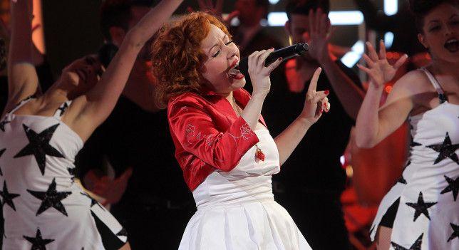 Momento de la actuación de Lady Cherry