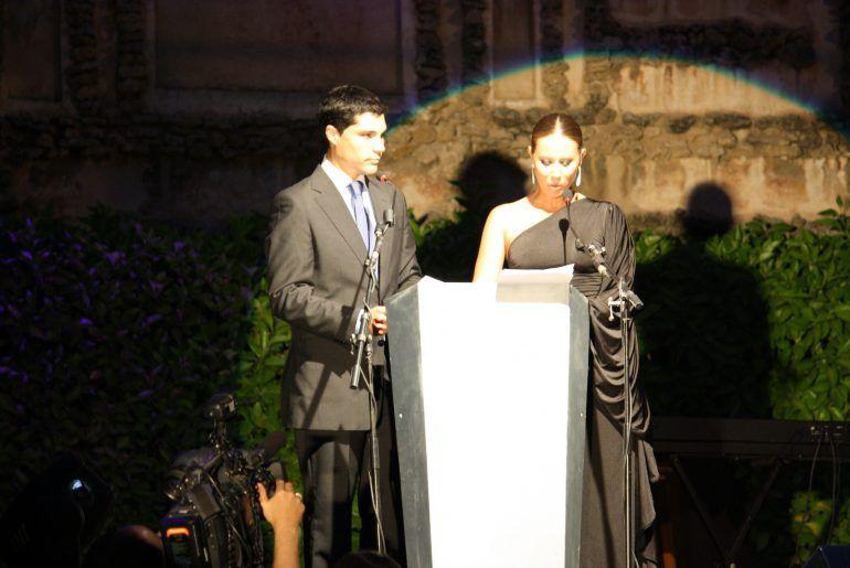 Presentadores Gala Premios Blogosur