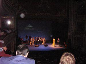 Premiados en el escenario