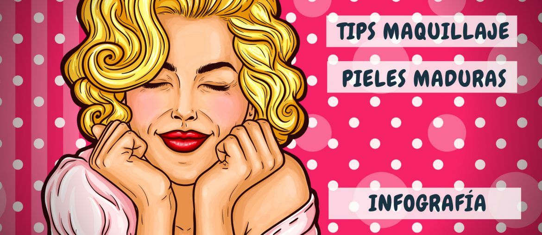 Tips de Maquillaje Pieles Maduras