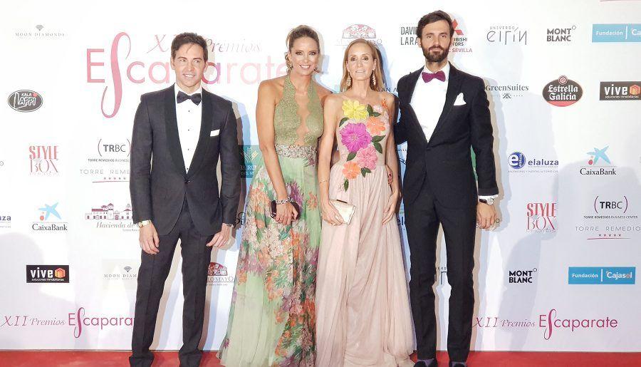 Premios Escaparate 2018, famosos y flores para homenajear a Murillo