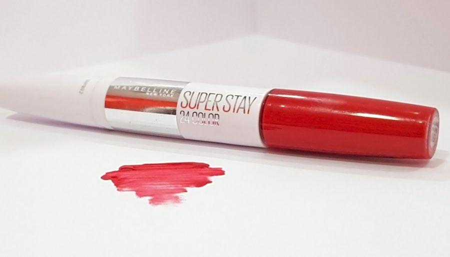 Review: Superstay 24H, la barra de labios que te durará más que un beso